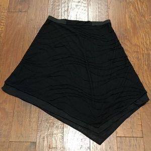 Simply Vera black handkerchief skirt